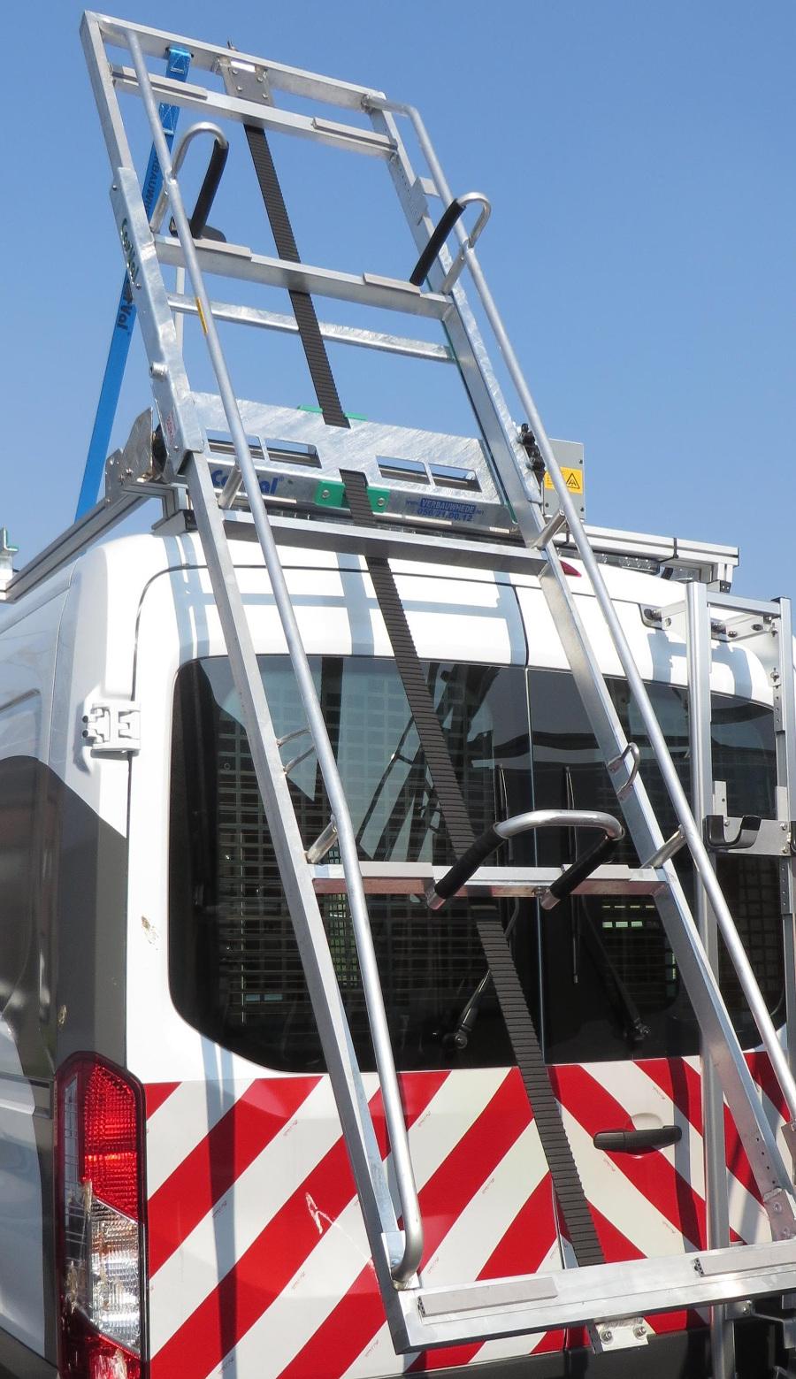 Elektrisch ladderlaadsysteem