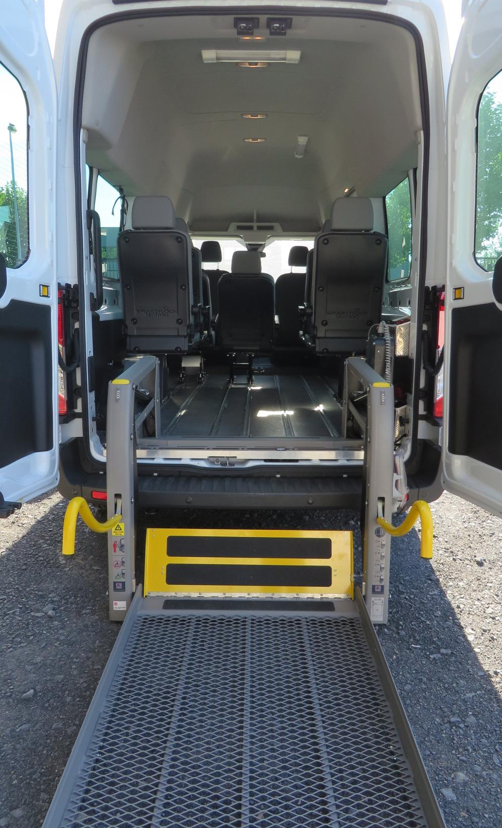 Mindervaliden- personenvervoer